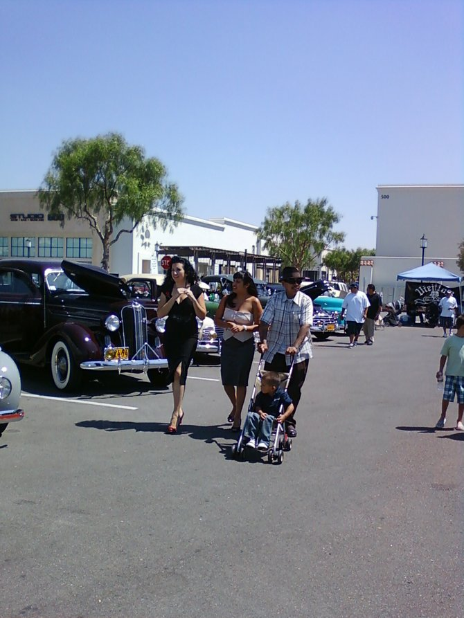 otay ranch town center.  car show fund raiser , bonemarrow drive.