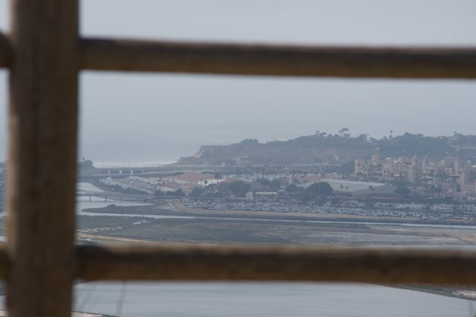 Shot of the Del Mar Fairgrounds from Overlook Park
