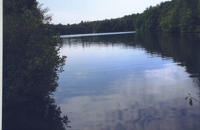 Do most men lead lives of quiet desperation? Thoreau pondered this thought while gazing out at Walden Pond in Massachusetts