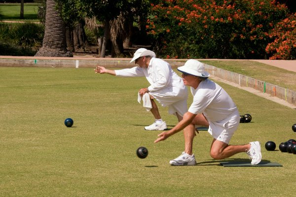 Lawn Bowling Balboa Park