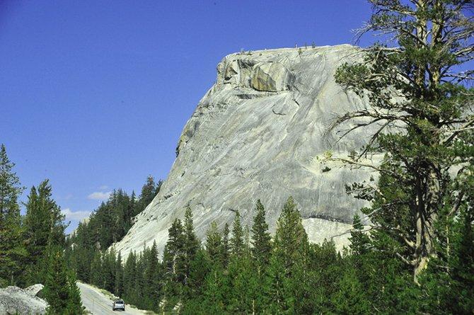 Driving along Rt 120 (Yosemite)