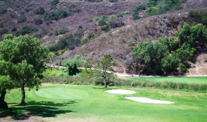 A round of golf, anyone? Hole 1 - Tecolote Golf Course