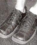 Chris's shoes