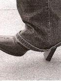 Christina's shoe