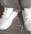 Mark's shoes