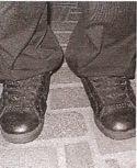 David's shoes