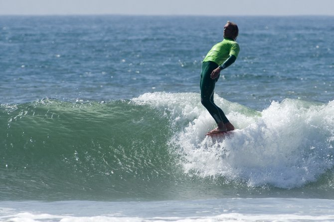 Taken during the OMBAC Charity Longboard Classic Surf Contest at Crystal Pier