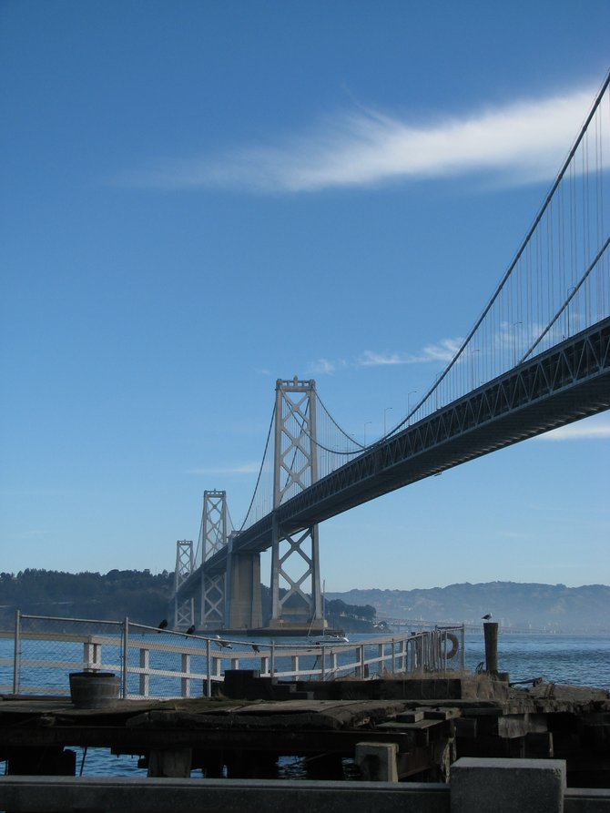 The Oakland Bay Bridge!