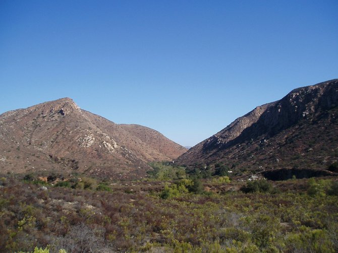 """A view from Mission Trails Regional Park visitors center, a great place to tell people to """"go take a hike."""""""