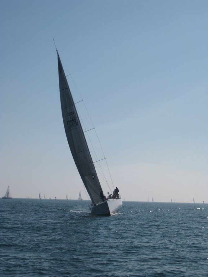 Sailing off Coronado