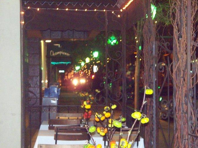 Grand Avenue, Escondido. November 6, 2009. A quiet evening.
