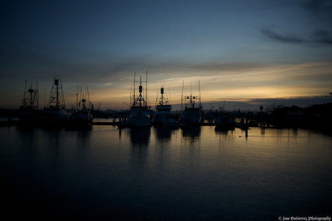 The tuna boats of San Diego at rest.