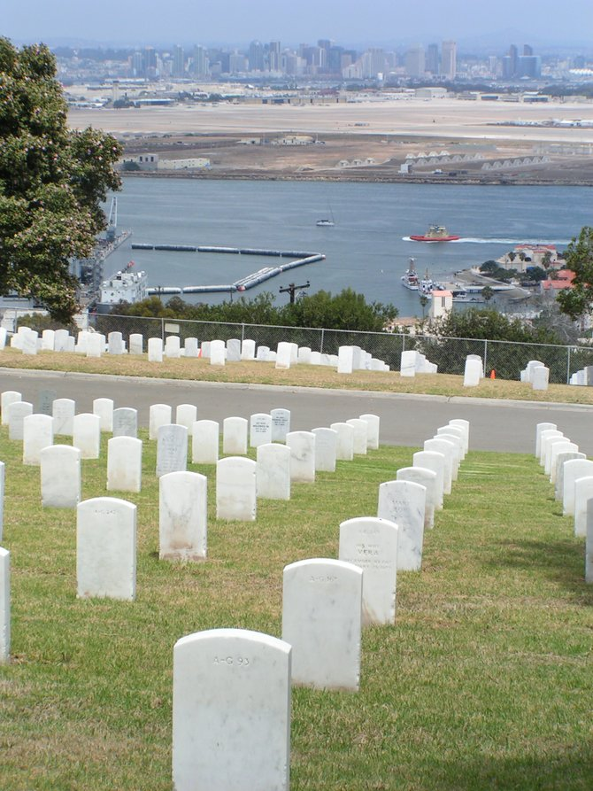 Fort Rosecrans National Cemetery.
