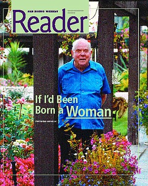 """Jay Borden:  """"I think my mother really wanted a girl."""""""
