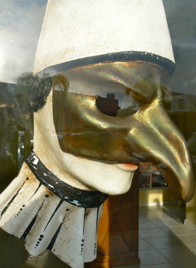 Venetian Carnival Mask, La Jolla, CA