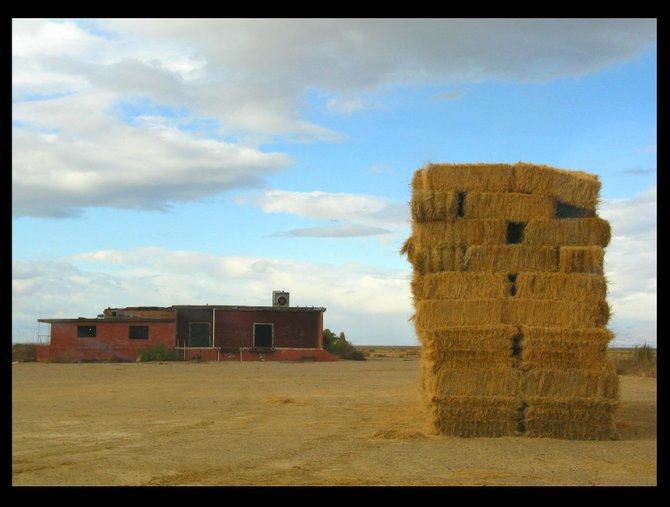 Haystack in the desert. Go figure.