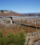 On this day in November 2009, The David Kreitzer Lake Hodges Bicycle Pedestrian Bridge in Escondido spanned a nearly dry lake bed. Today, a month ...