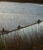 Fishing at Lake Miramar.