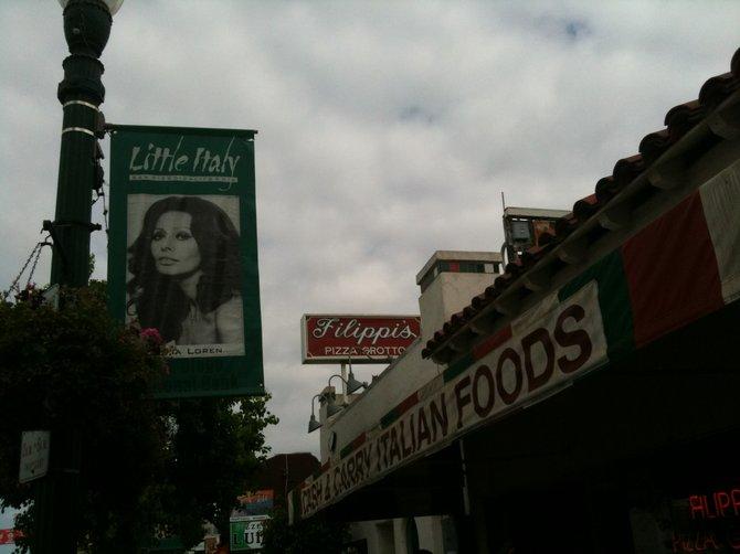 Sophia Loren, Little Italy, San Diego, CA