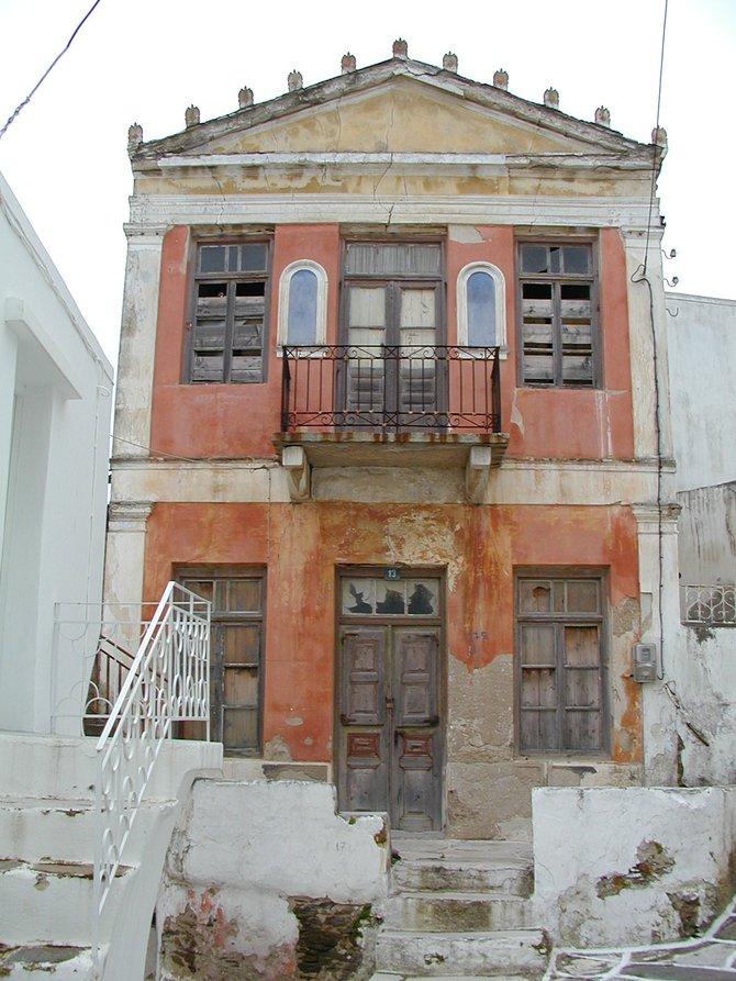 House in Lefkes Village, Paros, Greece