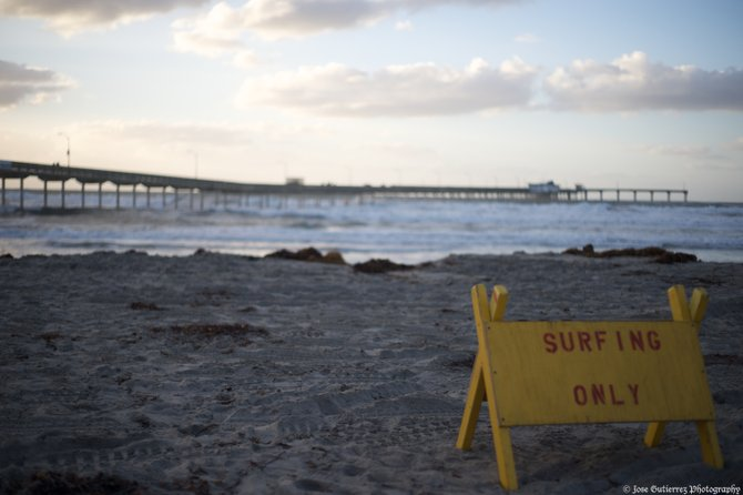 The surf advisory  of December 22nd, 2009