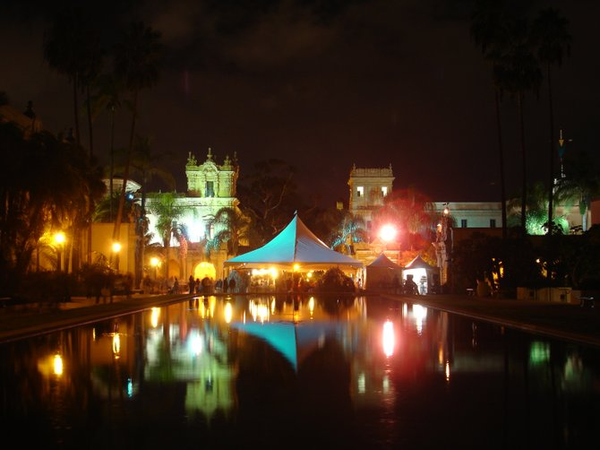December Nights at Balboa Park by Matthew Veseskis