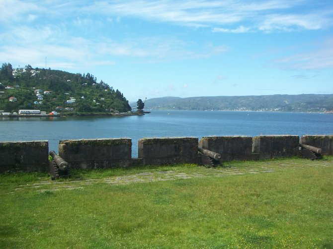 Fort built in 1645, Corral-Valdivia, Chile