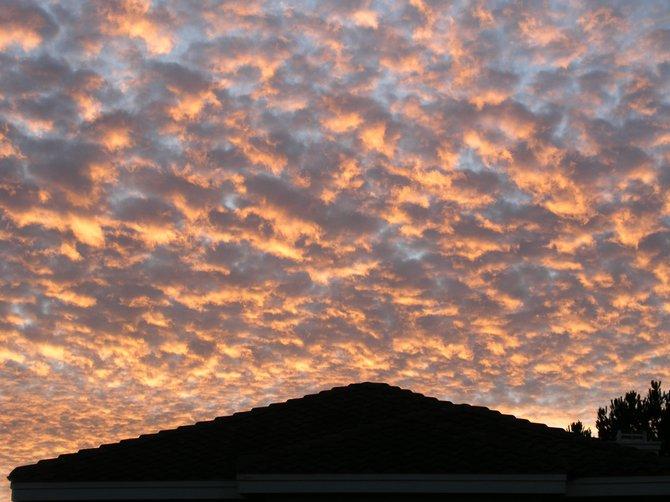 Sunrise Over Rancho Penasquitos Home