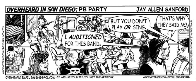P.B. party