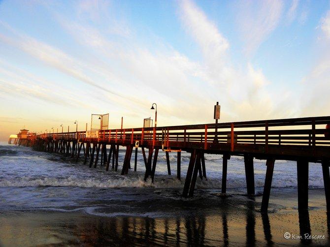 Imperial Beach Pier sunrise