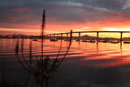 A beautiful sunrise in Coronado