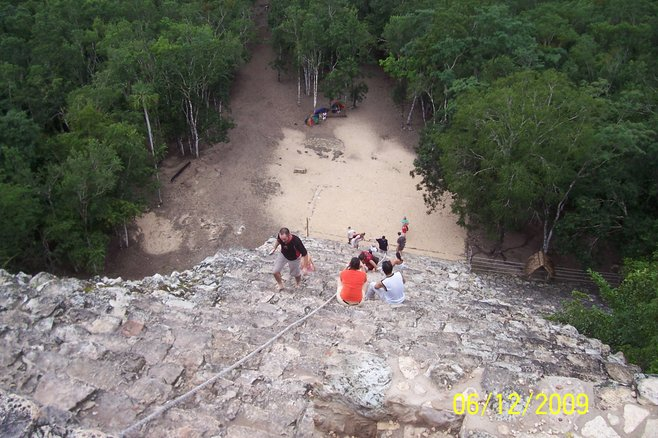 Fun And Games in Coba Mexico