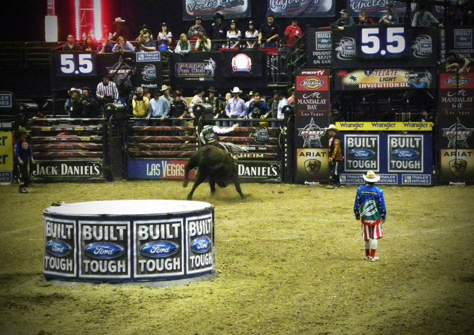 Professional Bull Riders Tecate Light Invitational at Honda Center in Anaheim, California