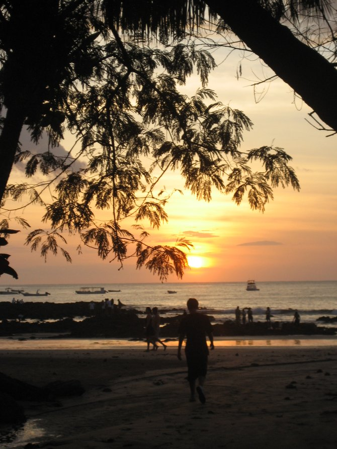 Playa Tamarindo.