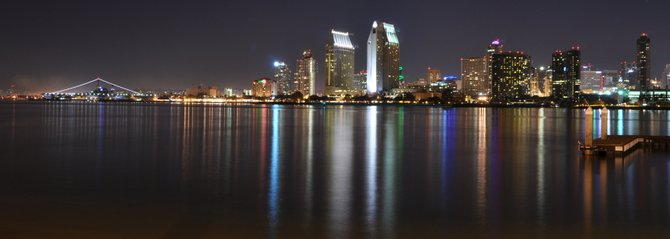 Coronado view of San Diego