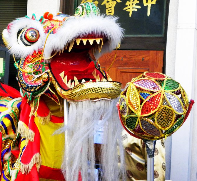 San Diego Chinese New Year Fair 2010 on Fourth Avenue sponsored by the San Diego Chinese Historical Museum.
