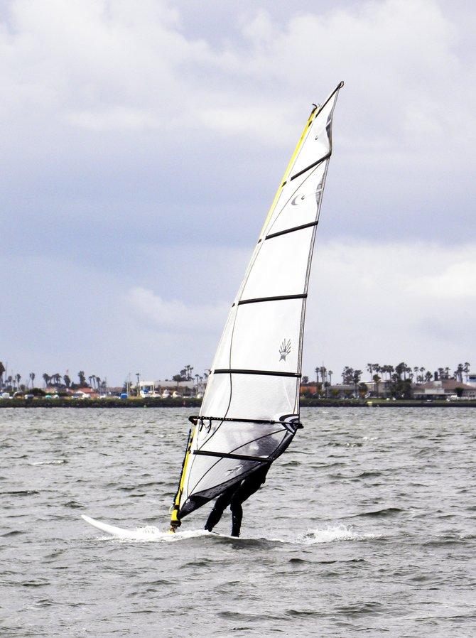 Windsurfing at Chula Vista Bayside Park