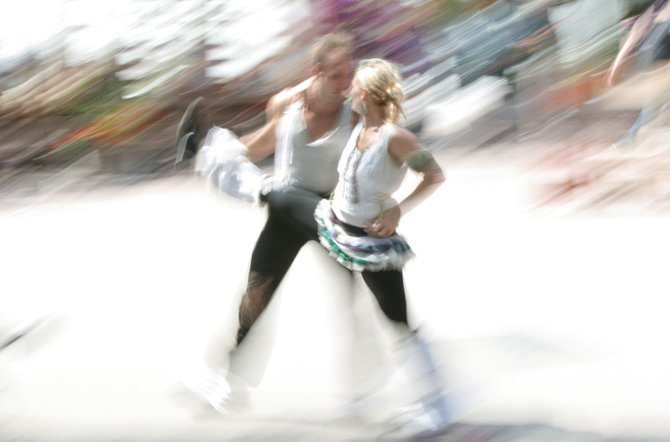 Dancers in Old Town.