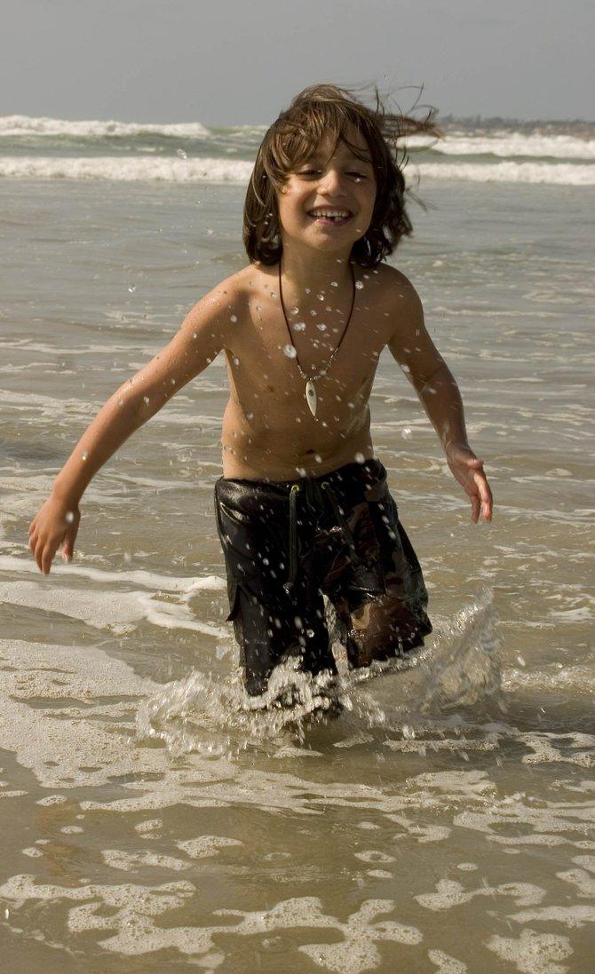 Summer fun at Mission Beach.
