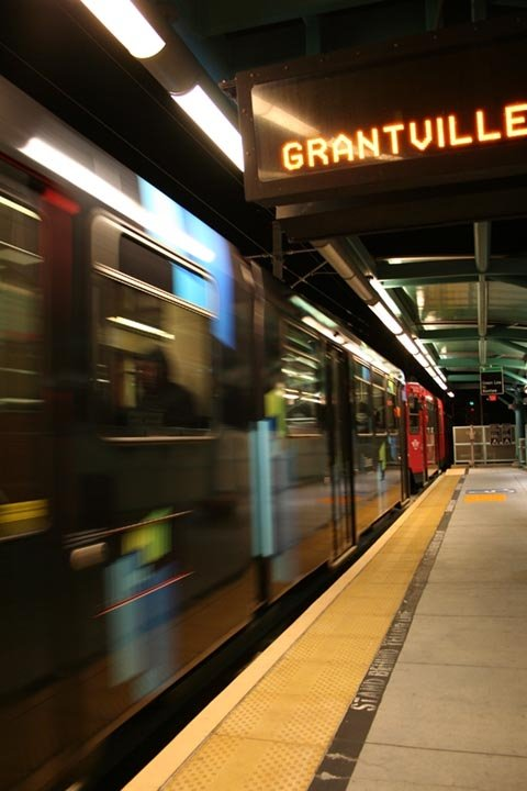 Grantville Train Station. All aboard!
