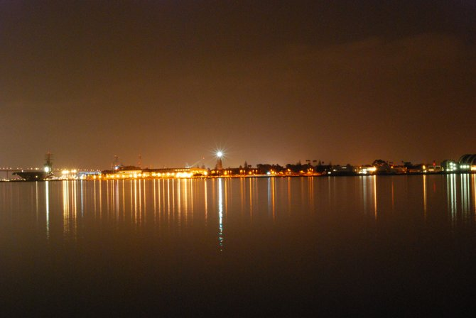 Coronado at night.
