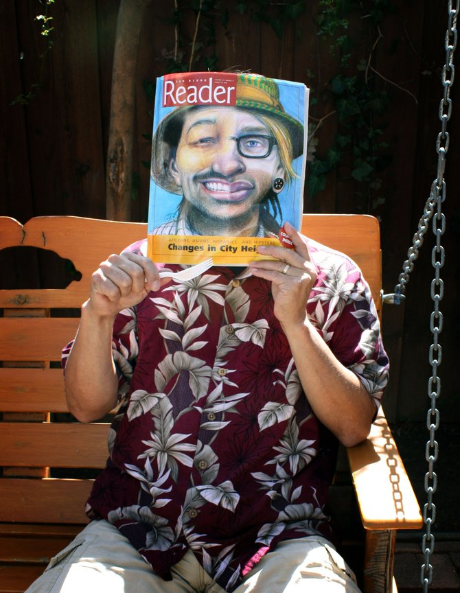 Stopped at the Julian Pie Company and picked up a copy of the San Diego Reader.