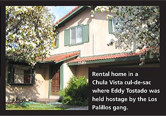 Rental home on Point Dume Court in Chula Vista. A lot of cars rolled in and out of Point Dume now: a black 2008 Escalade with newly purchased rims, a silver Ranger, a gray Corolla, the red MR2, and a black Lincoln truck.