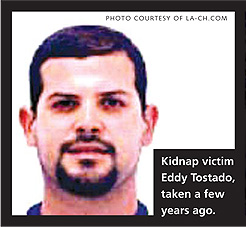 The Chula Vista kidnapping of Eddy Tostado by Arellano