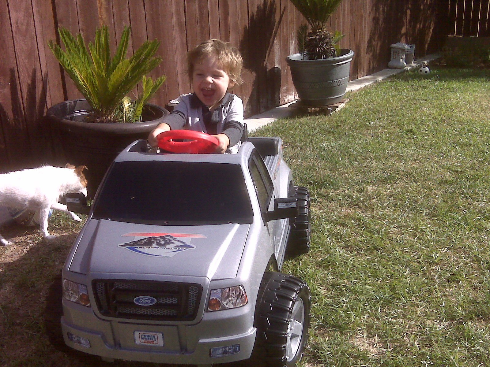 Brody's 2nd birthday and his new truck