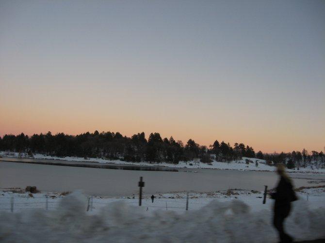Winter in Julian.