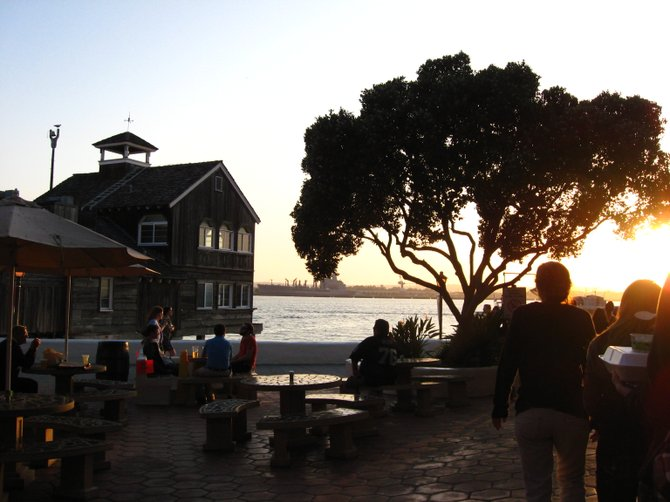 An afternoon at Seaport Village.