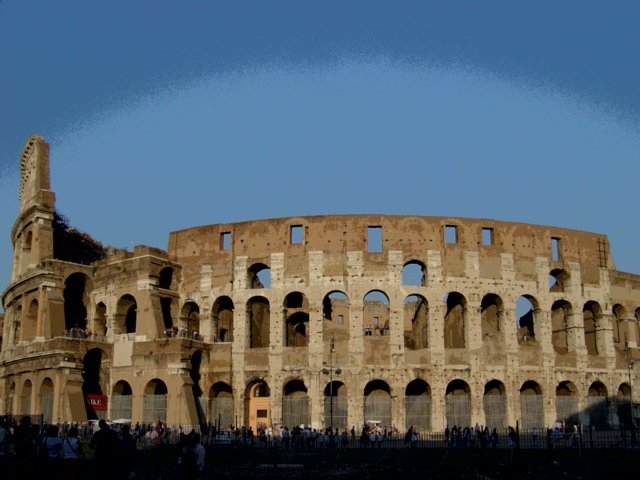 I used to work in front of the Colesseum in Rome for a summer. Looking at this magnificent building never gets old.