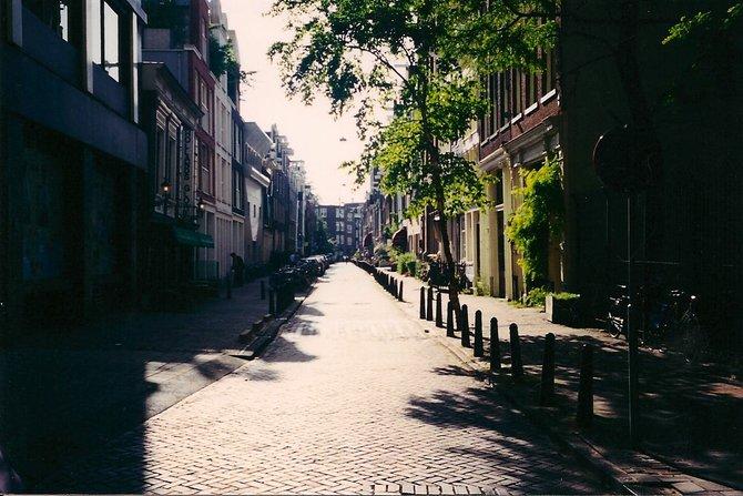 A quiet Amsterdam street.