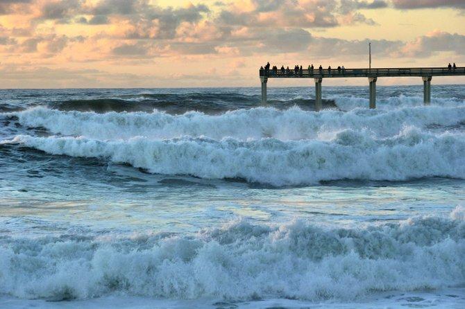 Big waves of OB Beach.